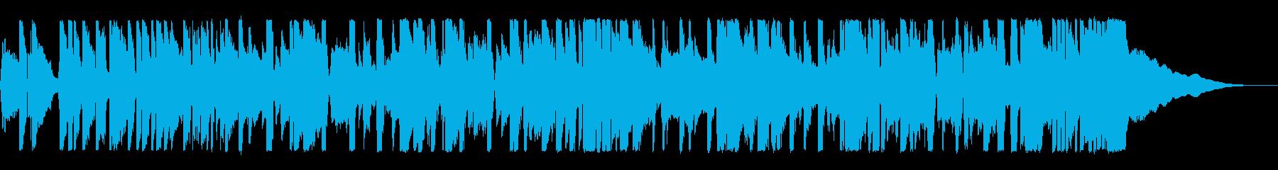 動画 感情的 楽しげ クール ad...の再生済みの波形