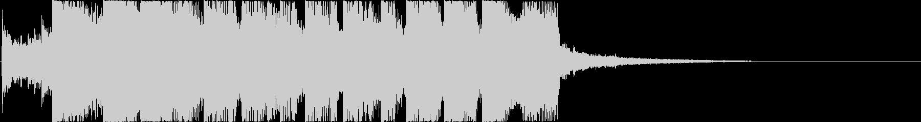 キラキラでポップなEDMジングル!の未再生の波形