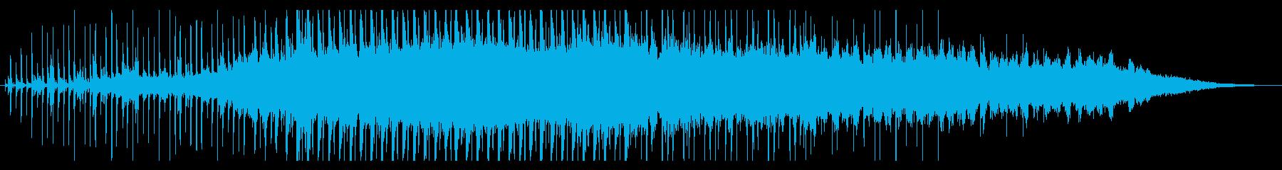 60秒 動画広告等 メロウなテクノポップの再生済みの波形