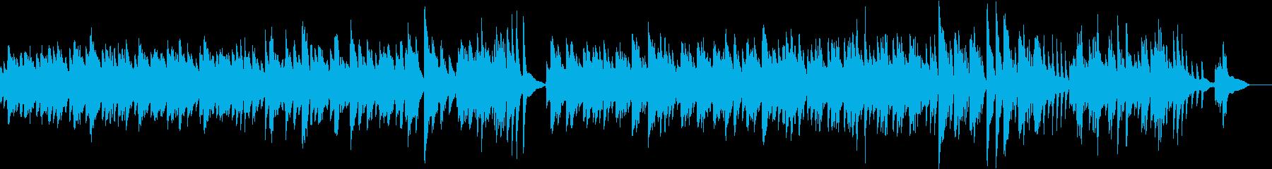ピアノで即興しました2の再生済みの波形