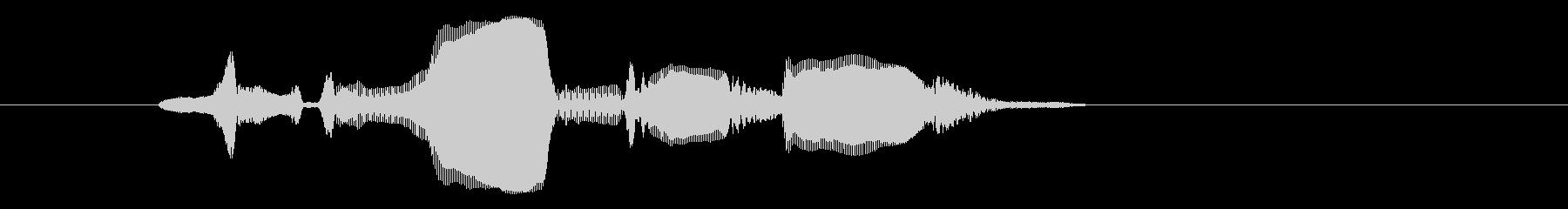 ゲーム モブ悲鳴A『いやだ~!』の未再生の波形