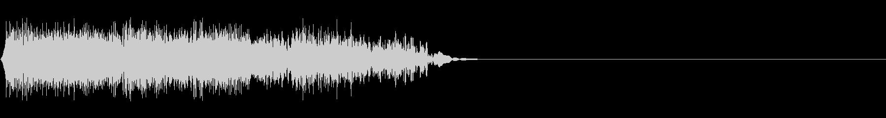 DJスクラッチ02_リバース音02の未再生の波形