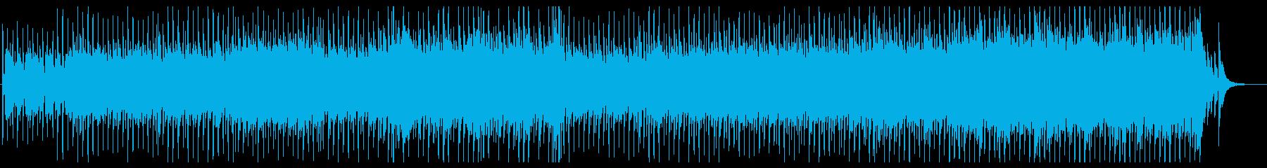 明るくポップで楽しい、前向きな未来の音楽の再生済みの波形