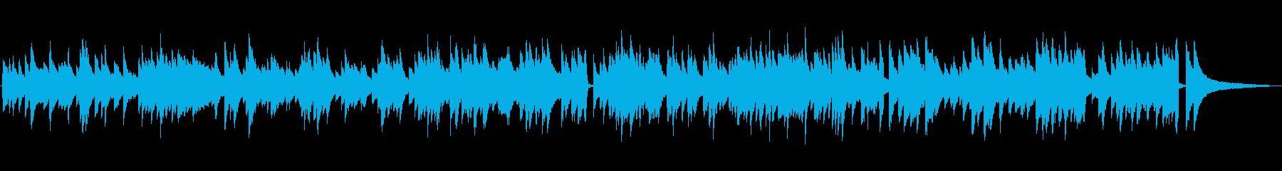 ゆっくりめのジャズ風ラウンジピアノソロの再生済みの波形