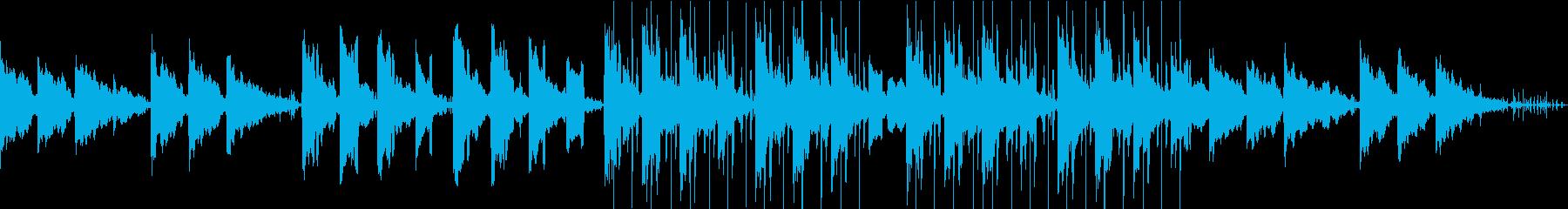 作業用・リラックス・チル系LoFiBGMの再生済みの波形