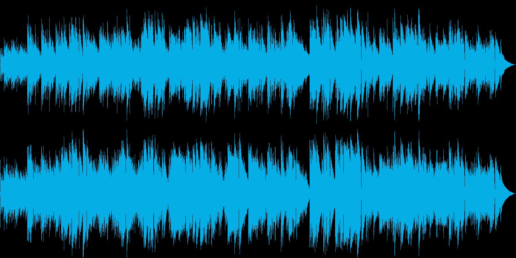 優しい暖かいメロディのギターポップスの再生済みの波形