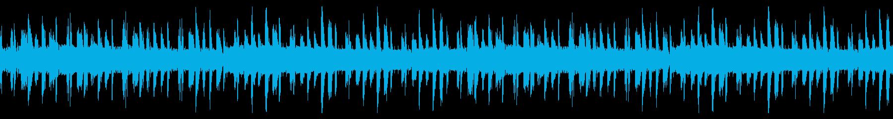 レース、アクションゲーム リザルト画面 の再生済みの波形
