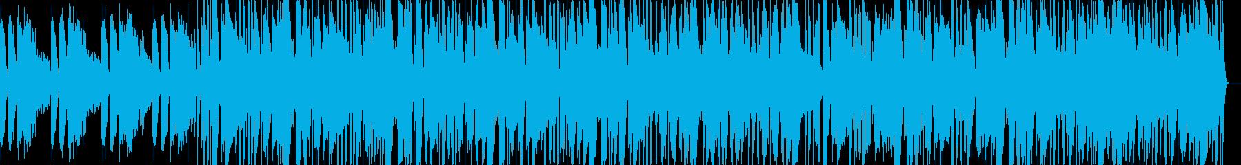 爽やかなLo Fi ヒップホップの再生済みの波形