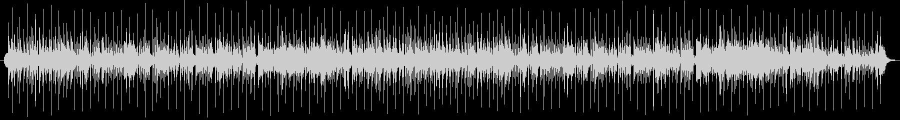 テンポの早い和風のゲーム用BGMの未再生の波形