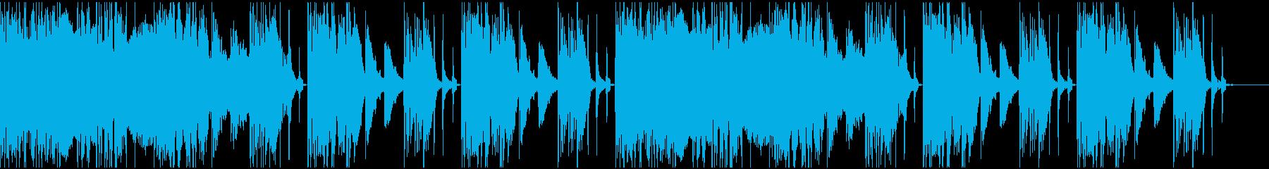 【エレクトロニカ】ロング4、ジングル2の再生済みの波形