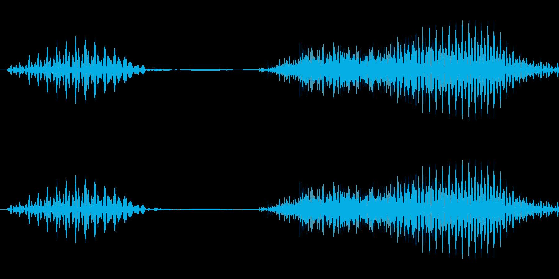 いちの再生済みの波形