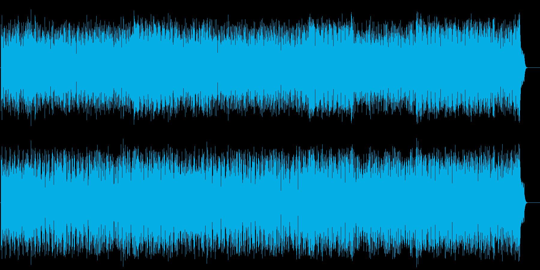 リゾート風なフュージョン(フルサイズ)の再生済みの波形