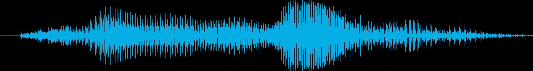 ツモの再生済みの波形