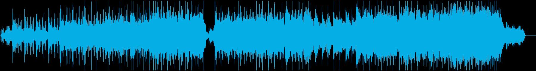 旅や物事の「始まり」 明るいVP向き曲の再生済みの波形