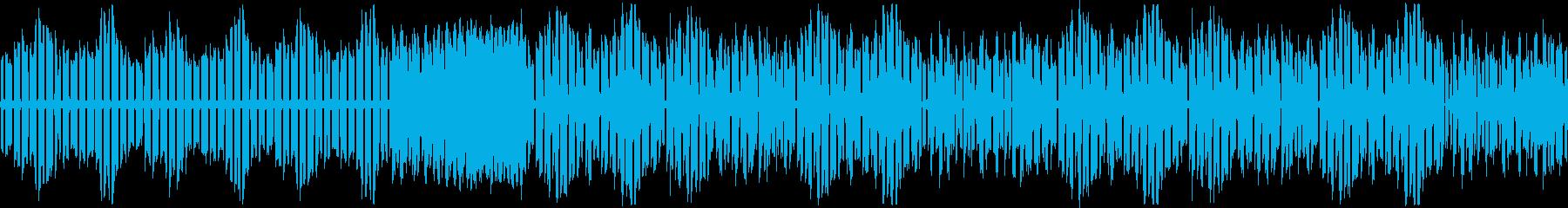【浮遊感のある可愛いポップス】の再生済みの波形