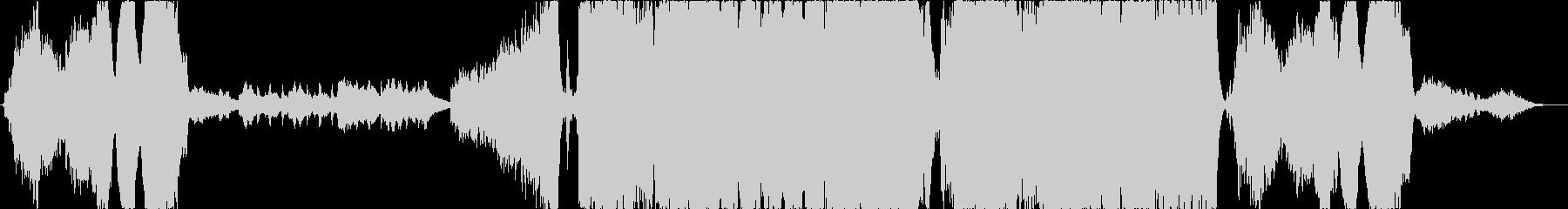 壮大なハリウッド系エピックトレイラーの未再生の波形