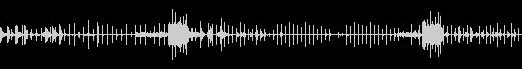 1980年代のビデオアーケード:ア...の未再生の波形