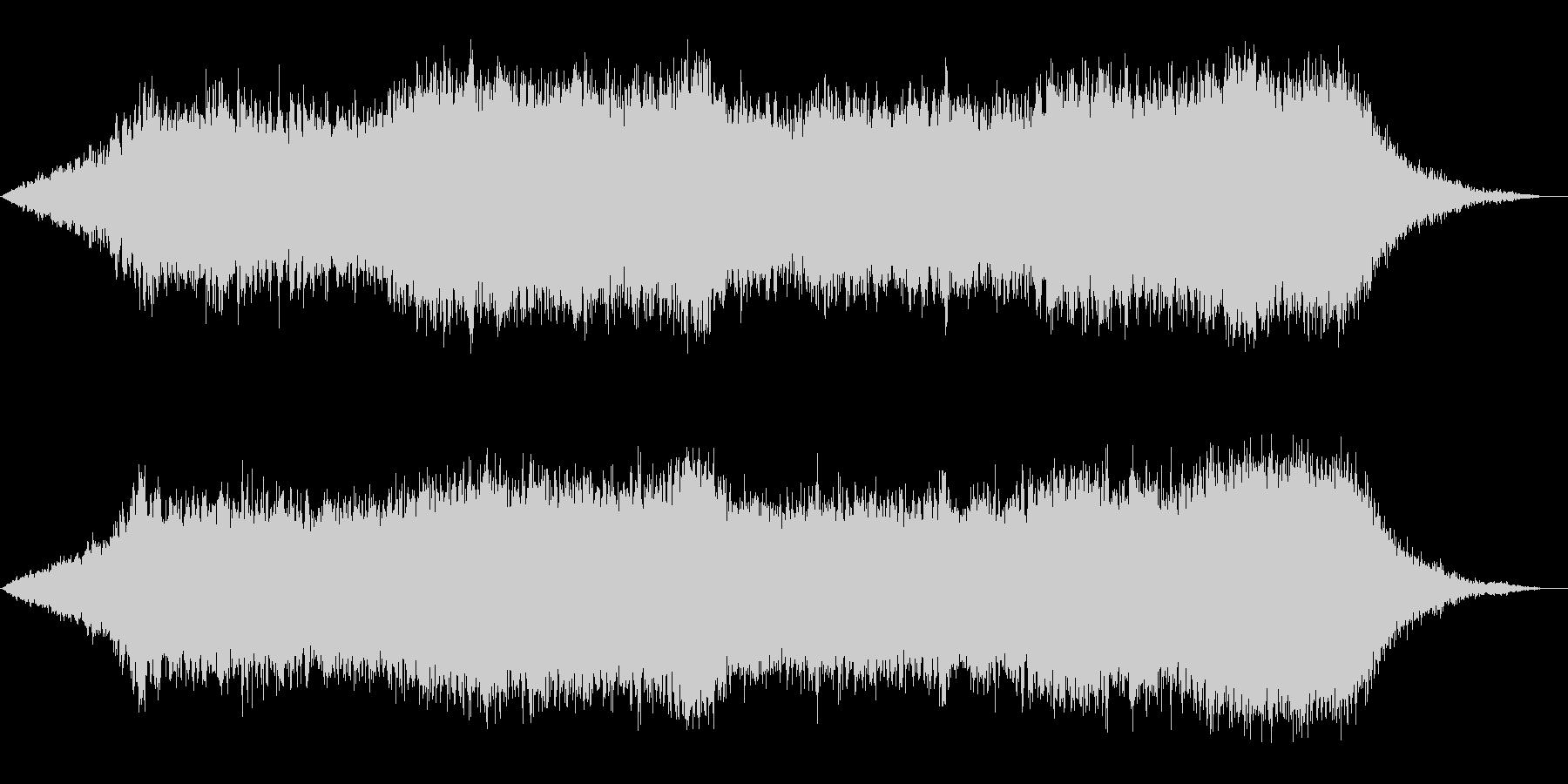 神秘的な雰囲気のアンビエント(背景音)8の未再生の波形