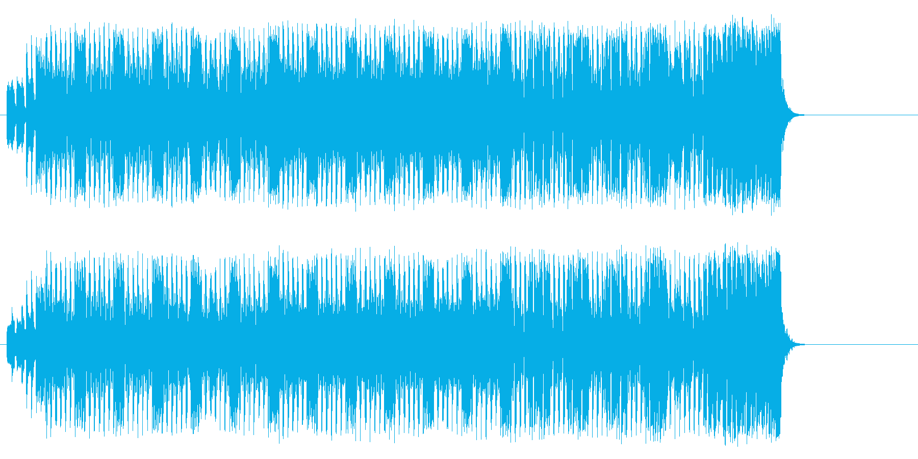 可愛い子犬のようなポップ(イントロ~…)の再生済みの波形