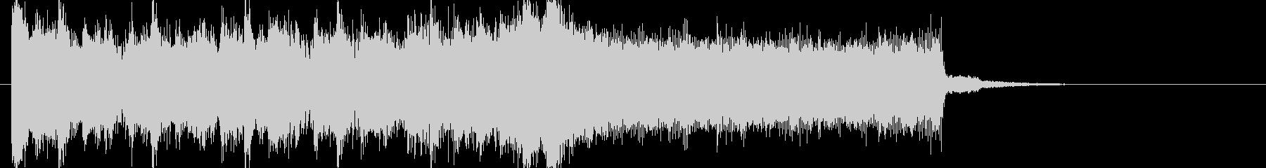 アイドルキラキラポップ4つ打ちジングルcの未再生の波形