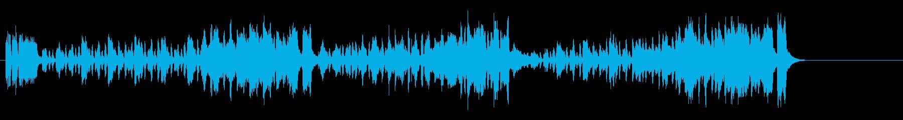 コンチネンタル・タンゴ(恋のステップ)の再生済みの波形