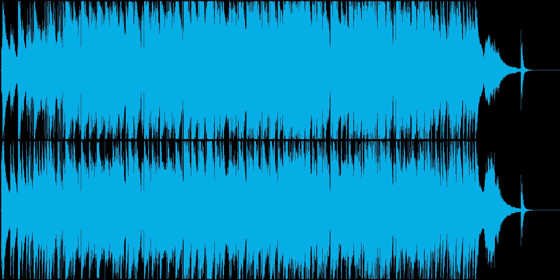 叙情的なSaxメインのJAZZバラードの再生済みの波形