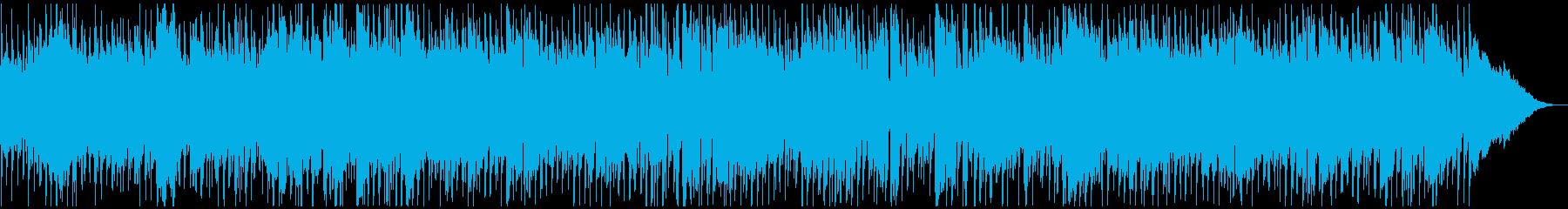 生音ハーモニカの元気一杯ロックンロールの再生済みの波形