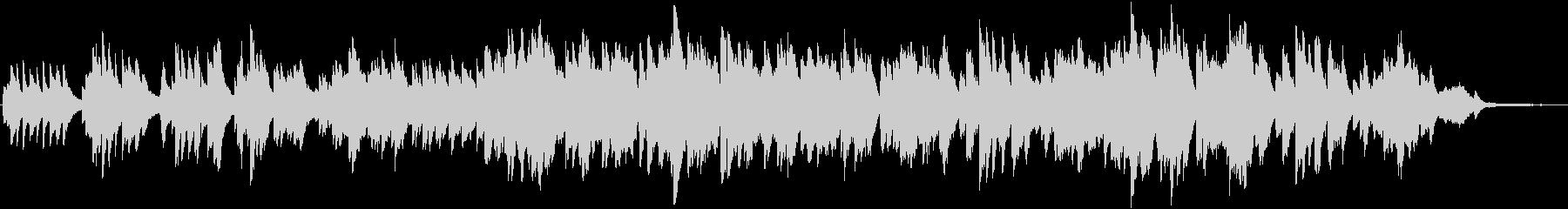 ピアノとケルトの笛の切ないバラードの未再生の波形