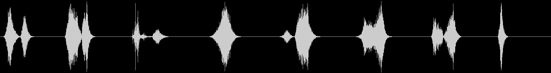 ビーストブレス-8エフェクト;さま...の未再生の波形