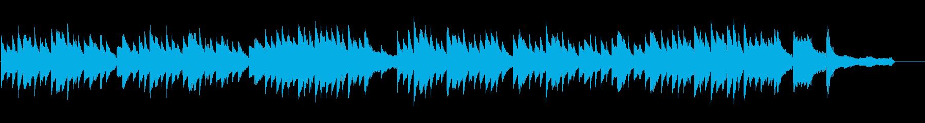 朝の爽やかさに合うフランス風ピアノワルツの再生済みの波形