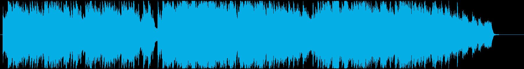 感動的な場面で使えるストリングスメロディの再生済みの波形