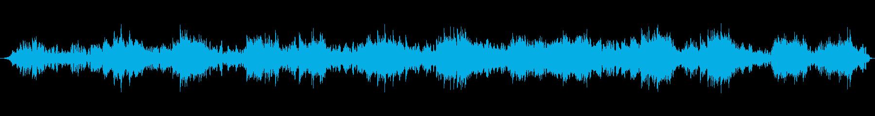 宇宙空間を感じさせるピアノの旋律の再生済みの波形