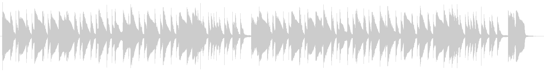 ギャグ・日常・コメディ・ほのぼのBGMの未再生の波形