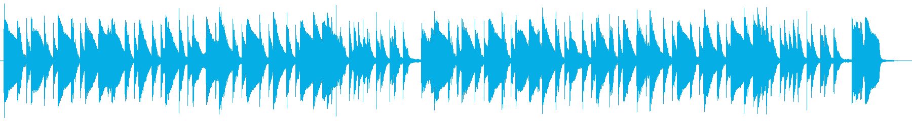 ギャグ・日常・コメディ・ほのぼのBGMの再生済みの波形