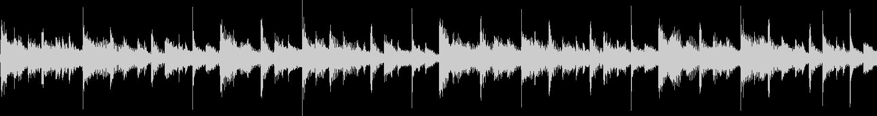スタイリッシュなシンセジングル(ループ)の未再生の波形
