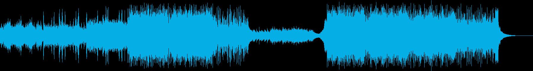 オープニング・ファンタジーの再生済みの波形