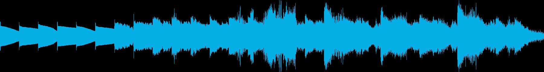 「  」の再生済みの波形