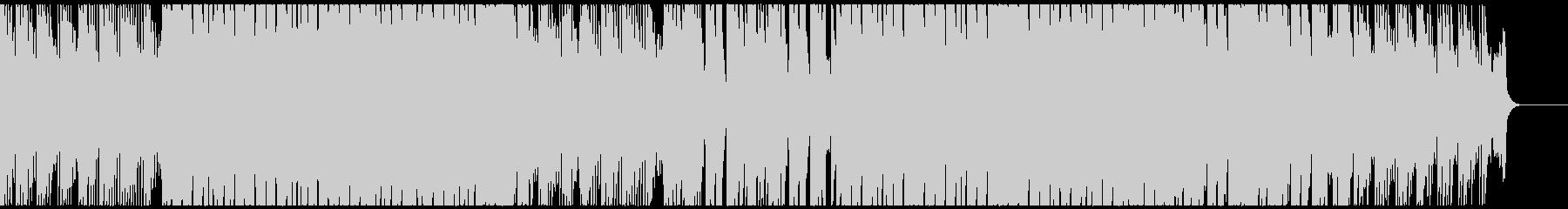 エモーショナルなシンセのEDMハウスの未再生の波形