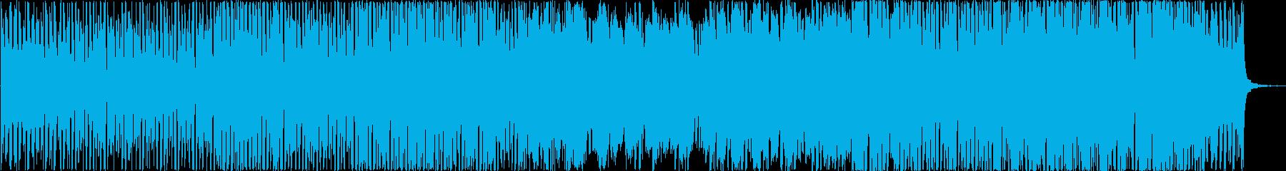 東洋と西洋のエキゾチックポップサウンドの再生済みの波形