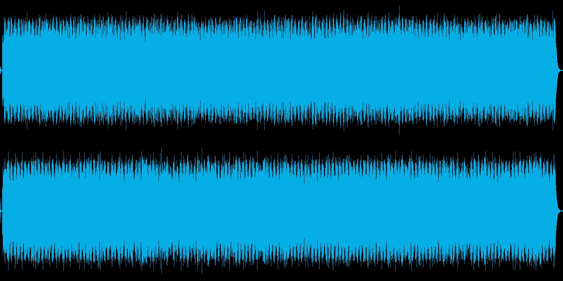 生き物の営みをイメージする環境音楽の再生済みの波形