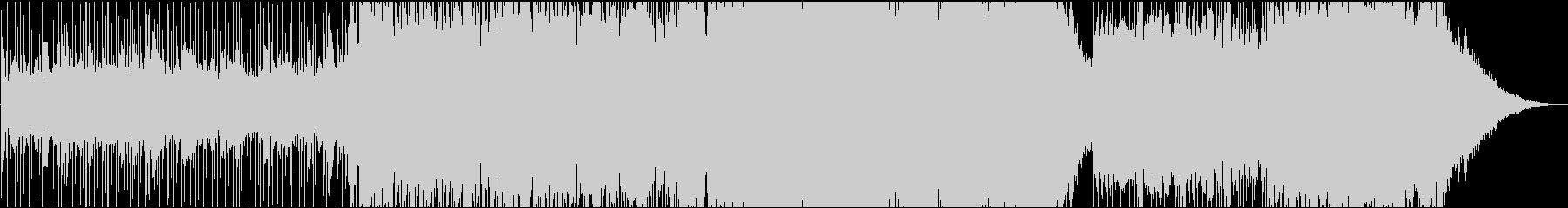 壮大なクワイアの入るシリアスな曲の未再生の波形