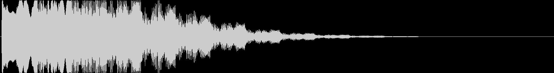 ゲーム:何か怪しいものを見つけた時の音2の未再生の波形