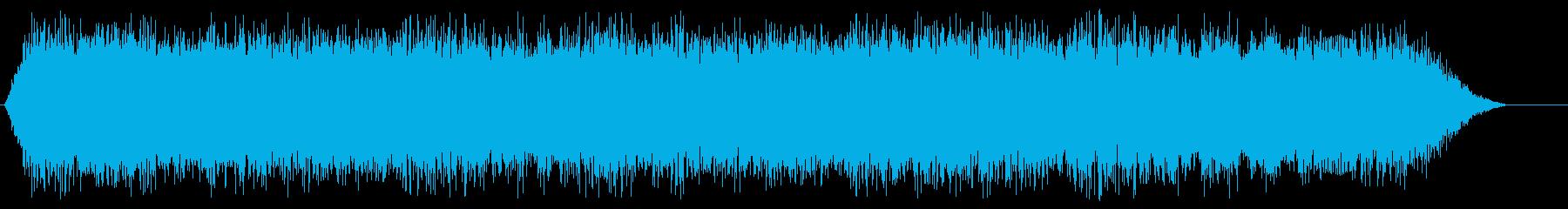 空気圧ハンマーの再生済みの波形