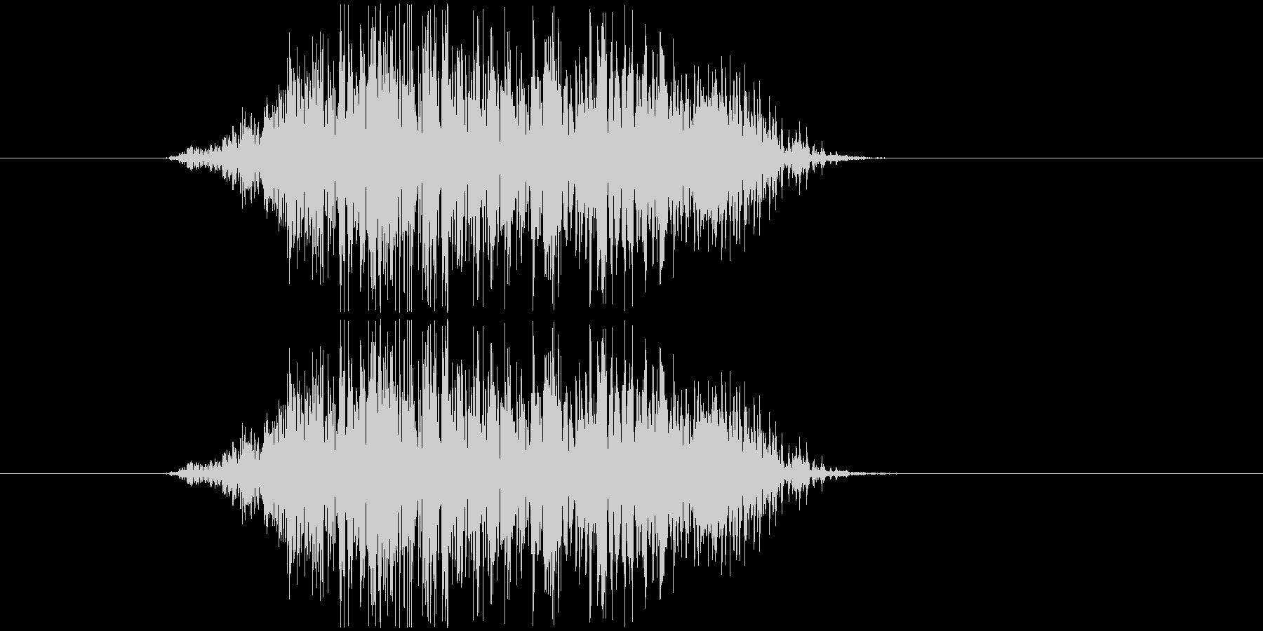 鳴き声 男性コンバットヒットハード06の未再生の波形