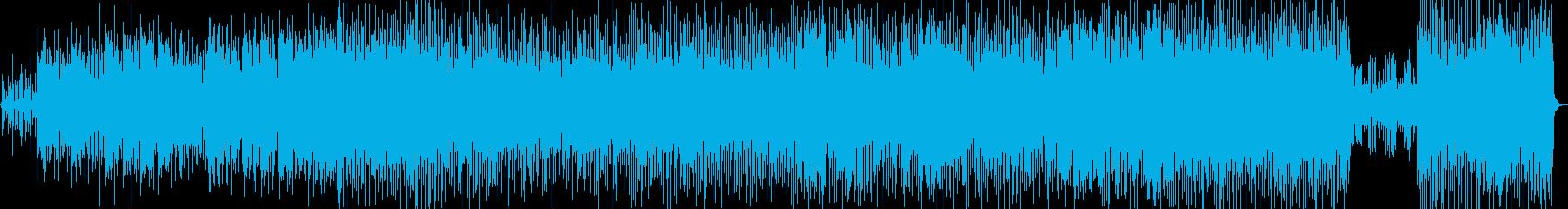角と一種のヒップホップグルーブを備...の再生済みの波形