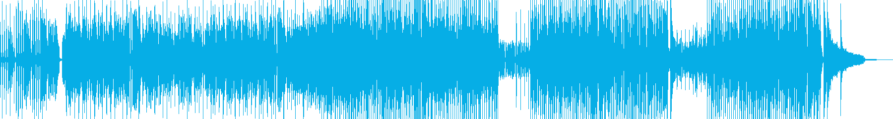 Cartoon-style piano ... Second half + drums's reproduced waveform