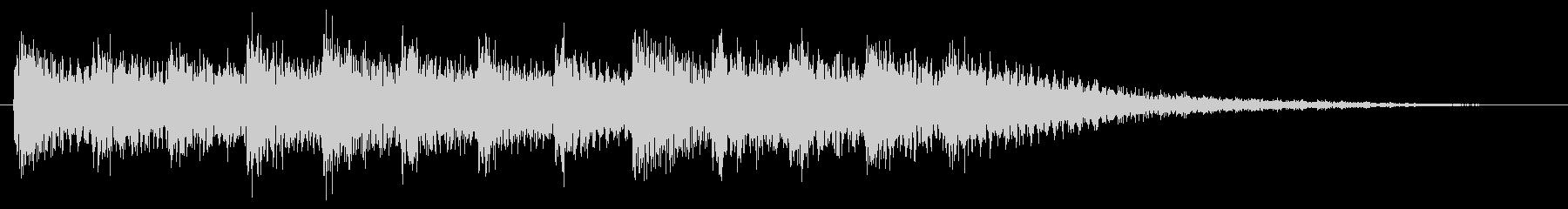 和風効果音 琴 場面転換 切替 Ver2の未再生の波形