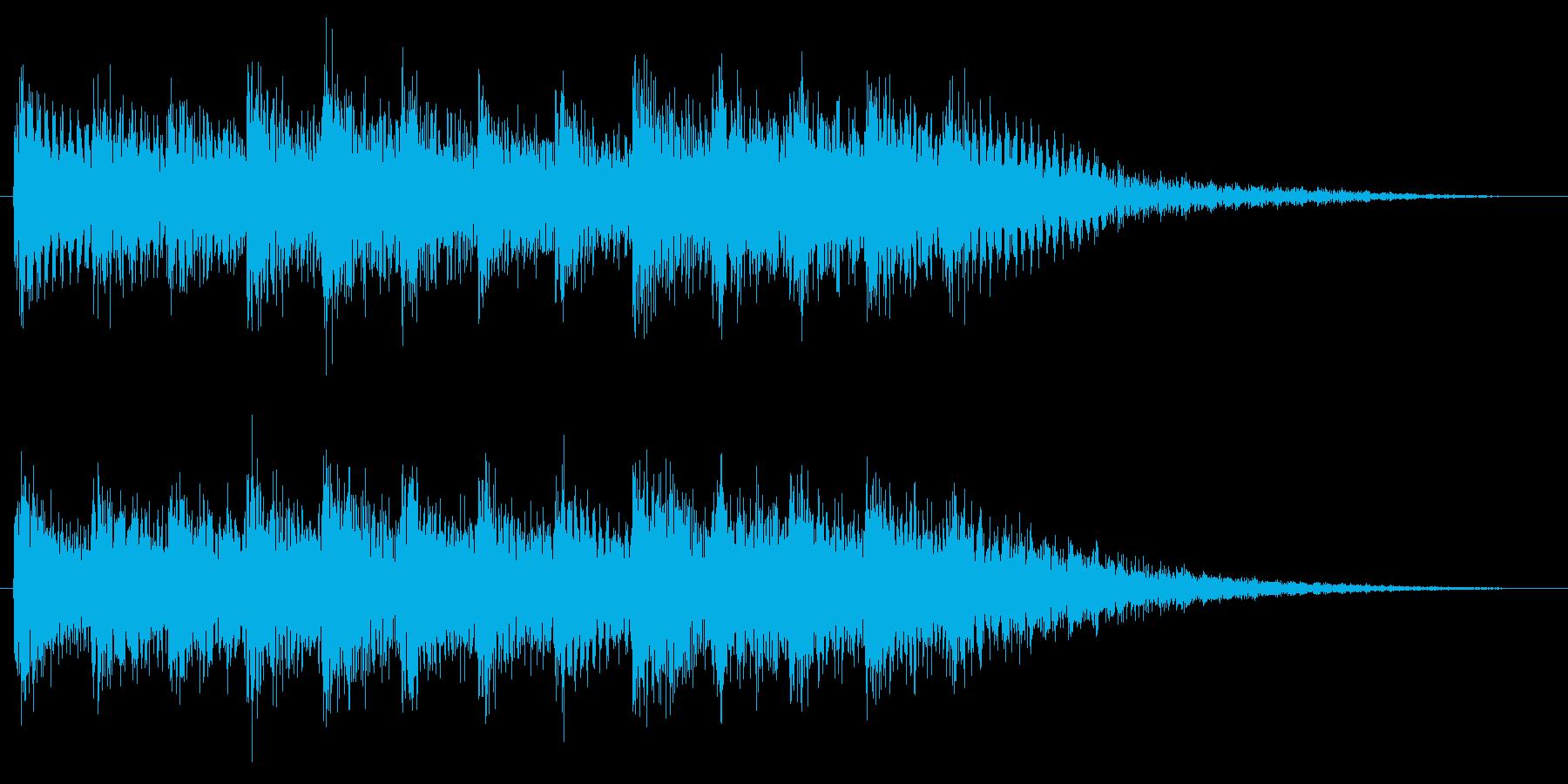 和風効果音 琴 場面転換 切替 Ver2の再生済みの波形