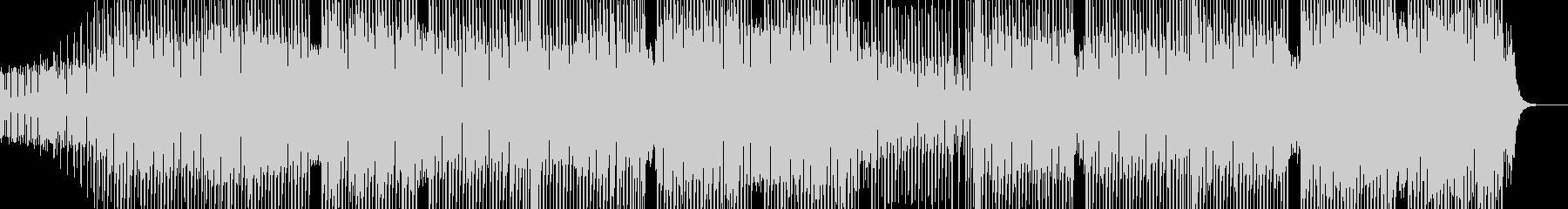 科学・浮遊感漂うテクノ 裏拍リズム Bの未再生の波形