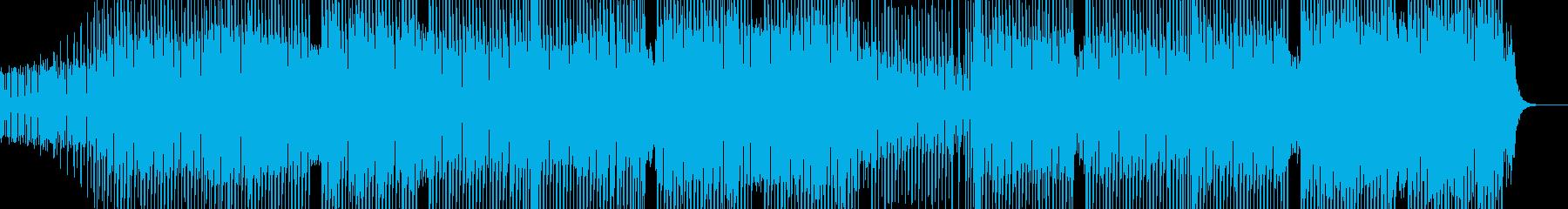科学・浮遊感漂うテクノ 裏拍リズム Bの再生済みの波形